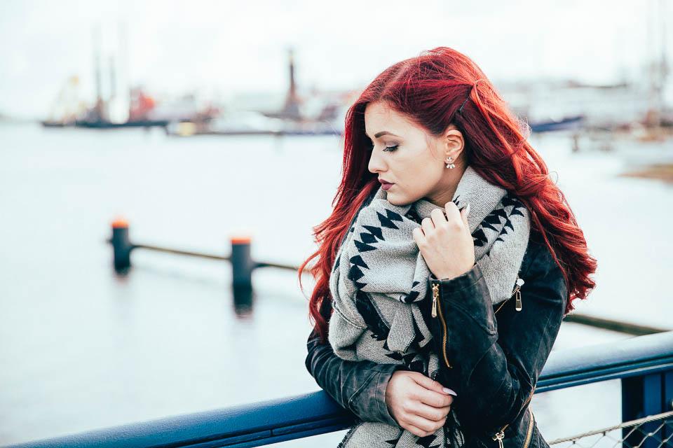 Als Fotograf mit Michelle in Wilhelmshaven Fotos gemacht