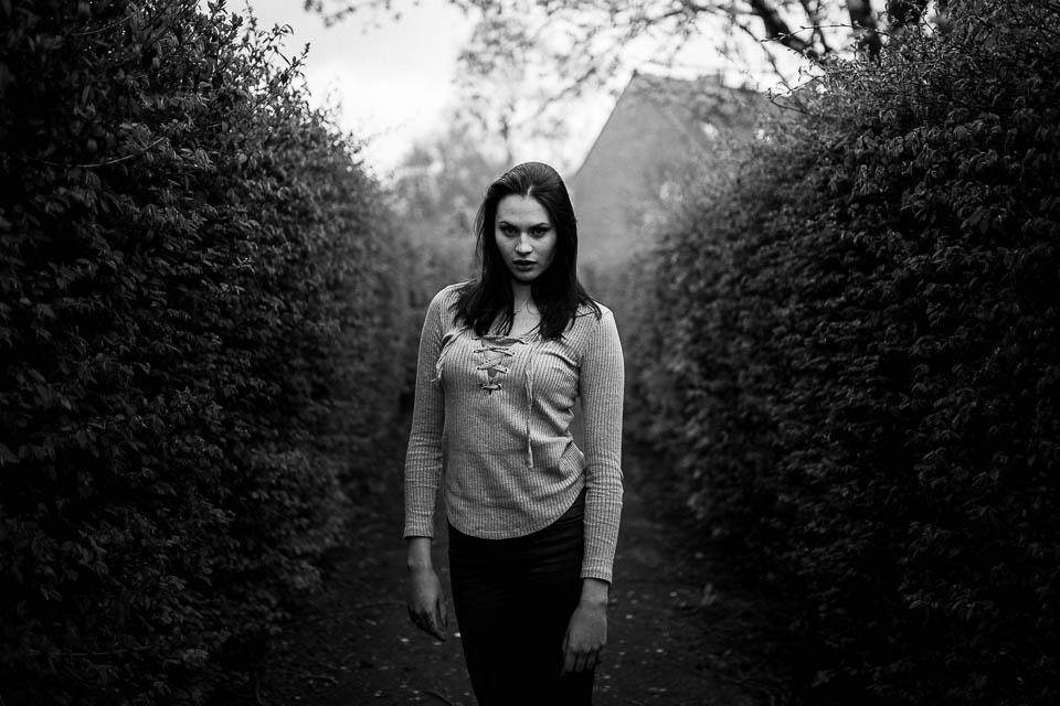 Als Fotograf mit Lizzy in Wilhelmshaven Porträtfotos gemacht
